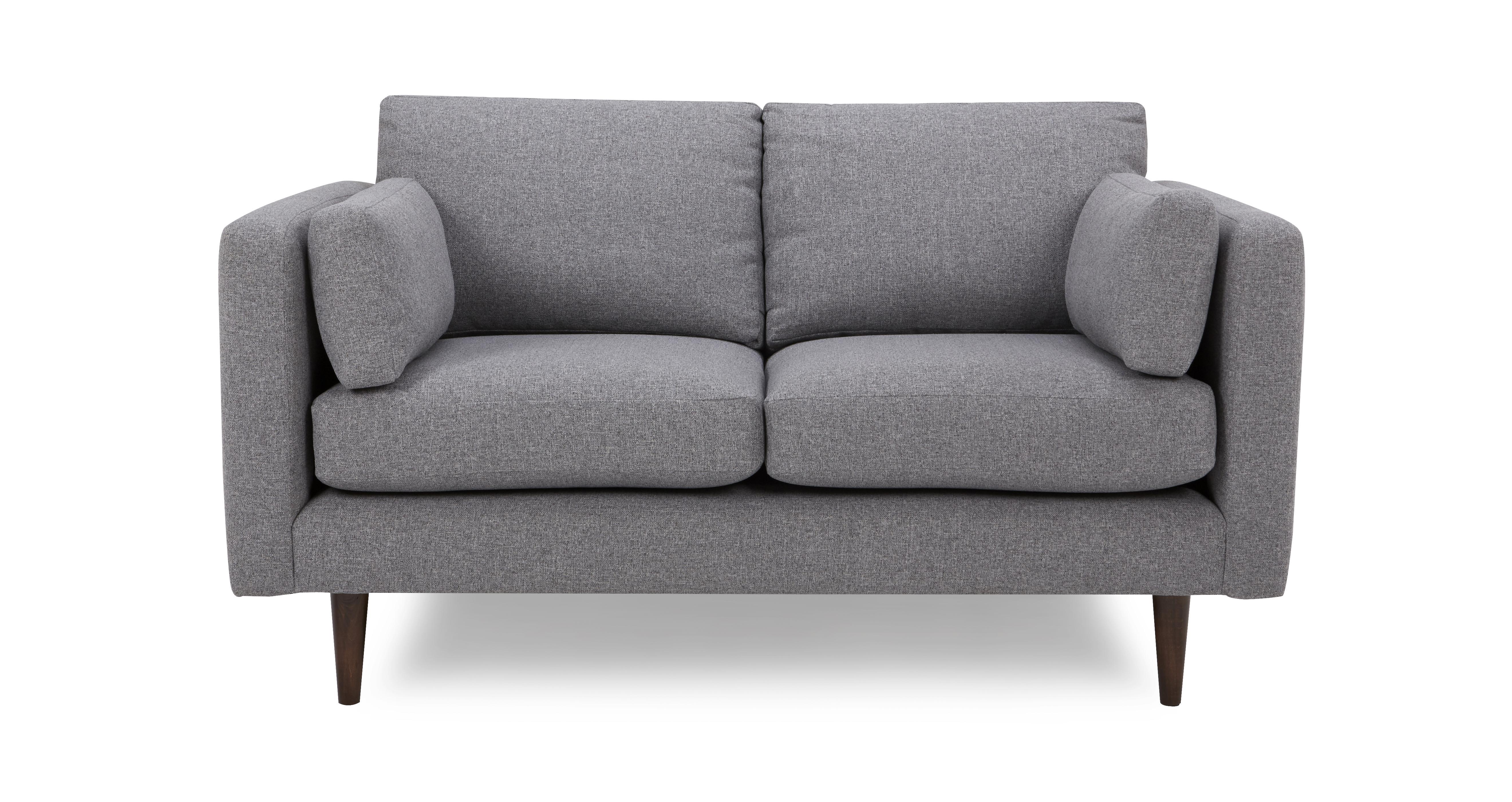 marl fabric kleine bank marl plain dfs banken. Black Bedroom Furniture Sets. Home Design Ideas