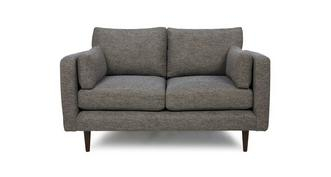 Marl Fabric Weave Fabric Small Sofa
