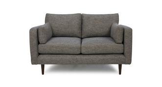 Marl Fabric Weave Fabric Small Sofa