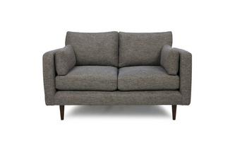 Weave Fabric Small Sofa Marl Weave