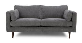 Marl Fabric Smooth Fabric 3 Seater Sofa