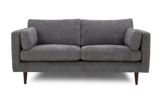 Smooth Fabric 3 Seater Sofa Imperial Smooth