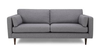 Marl Fabric 4 Seater Sofa
