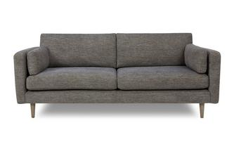 Weave Fabric Large Sofa Marl Weave