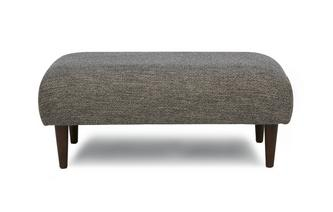 Weave Fabric Large Bench Footstool