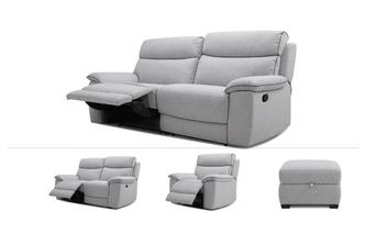 2 & 3 Seater Recliners, Power Chair & Stool