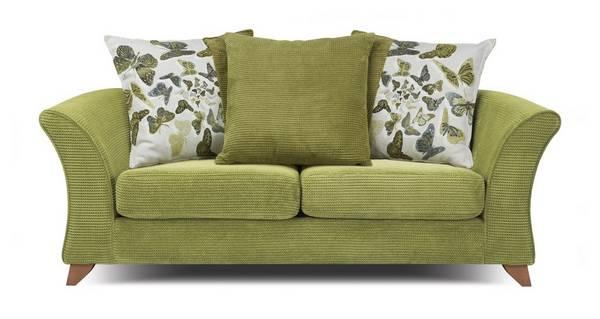 Marni 2 Seater Pillow Back Sofa