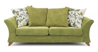 Marni 3 Seater Pillow Back Sofa