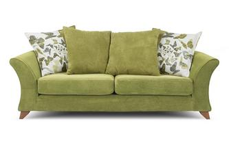 3 Seater Pillow Back Sofa Escape