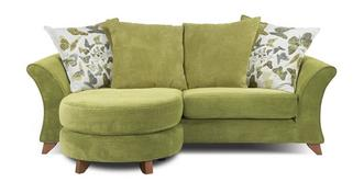 Marni 3 Seater Pillow Back Lounger Sofa