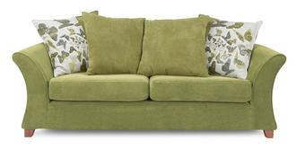 Marni 3 Seater Pillow Back Sofa Bed