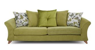 Marni 4 Seater Pillow Back Sofa