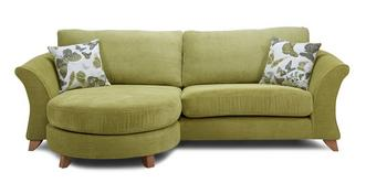 Marni 4 Seater Formal Back Lounger Sofa