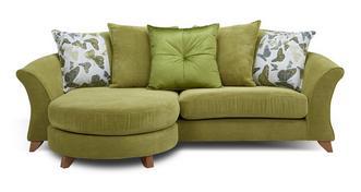 Marni 4 Seater Pillow Back Lounger Sofa