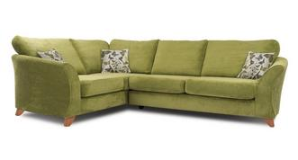 Marni Right Hand Facing 3 Seater Formal Back Corner Sofa