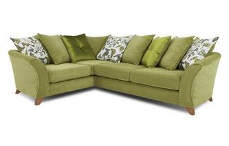 Right Hand Facing 3 Seater Pillow Back Corner Sofa Escape