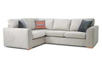 Right Hand Facing 2 Seater Corner Sofa Plaza