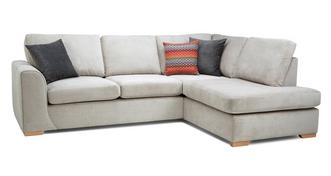 Marquee Left Hand Facing Arm Open End Corner Sofa