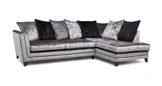 Marquise Left Hand Facing Arm Pillow Back Corner Sofa