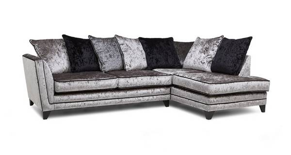 Marquise Left Hand Facing Arm Pillow Back Corner Sofa