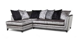 Marquise Right Hand Facing Arm Pillow Back Corner Sofa