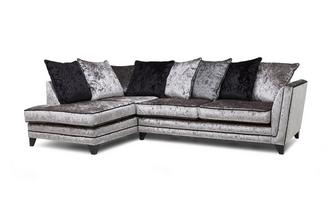 Right Hand Facing Arm Pillow Back Corner Sofa Marquise