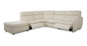 Marriott Option F rechtszijdige elektrische recliner hoekbank