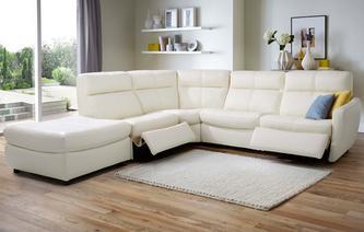 Leather Corner Sofa Recliner | Catosfera.net