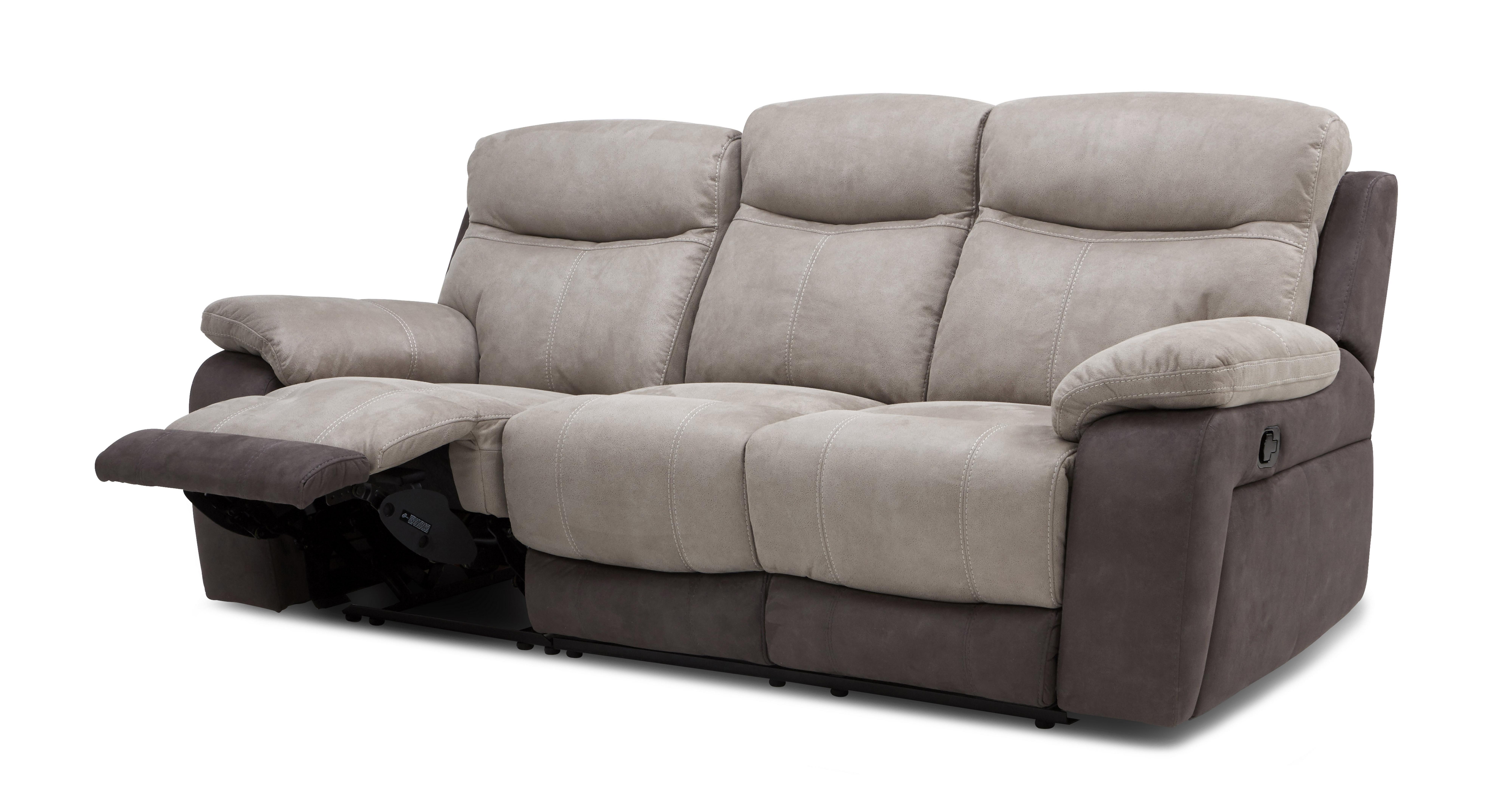 Dfs Brown Leather Recliner Sofa Brokeasshome Com