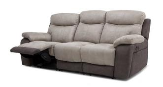 Marsha 3 Seater Manual Recliner