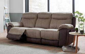 Marsha 3 Seater Manual Recliner Arizona