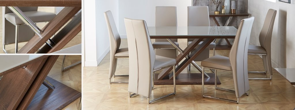 Marteni Fixed Top Dining Table | DFS