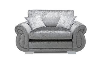 Formal Back Cuddler Sofa Krystal