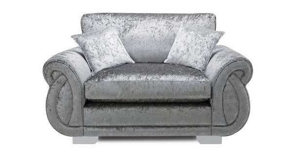 Matilda Formal Back Cuddler Sofa