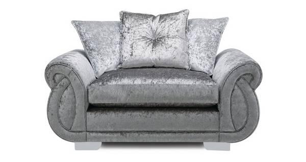 Matilda Pillow Back Cuddler Sofa