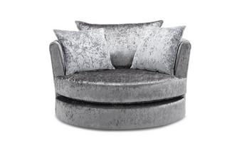 Large Swivel Chair Krystal