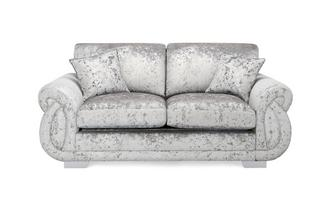 Matilda Formal Back 2 Seater Supreme Sofa Bed Krystal