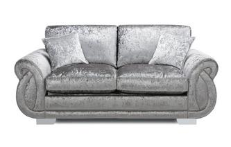 Formal Back 2 Seater Supreme Sofa Bed Krystal
