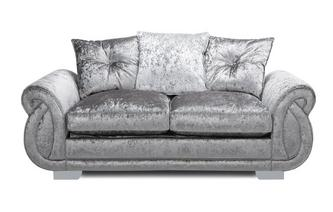 Pillow Back 2 Seater Supreme Sofa Bed Krystal