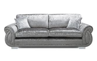 Formal Back 4 Seater Sofa Krystal