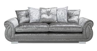 Matilda Pillow Back 4 Seater Sofa