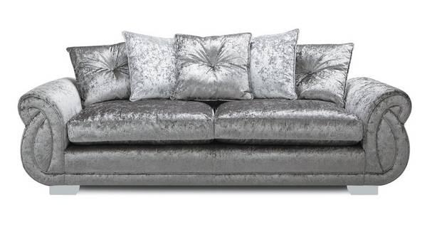 Matilda Pillow Back 4 Seater Sofa
