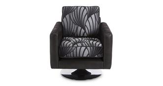 Matinee Pattern Swivel Chair