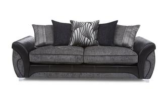 4 Seater Pillow Back Sofa Matinee