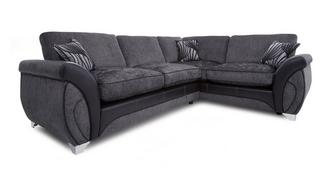 Matinee Left Hand Facing 3 Seater Formal Back Corner Deluxe Sofa Bed
