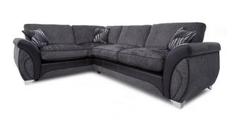 Matinee Right Hand Facing 3 Seater Formal Back Deluxe Corner Sofa Bed