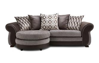4 Seater Pillow Back Lounger Sofa Chance