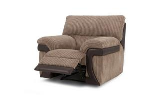 Manual Recliner Chair Mawson Rib
