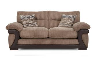 Large 2 Seater Sofa Mawson Rib