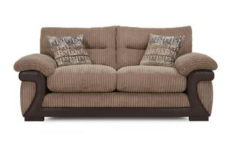 Large 2 Seater Sofabed Mawson Rib